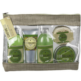 ECOBALANCE Gift Bag Set - Eucalyptus - 5 piece