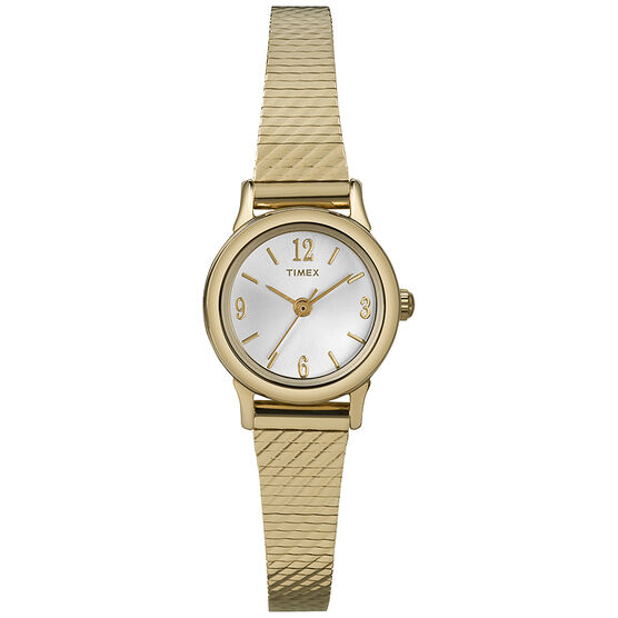Timex Women's Dress Watch - Gold - T2P300GP