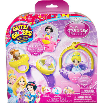 Glitzi Globes Disney Princess Jewelry Pack