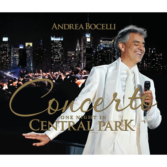 Andrea Bocelli Concerto: One Night In Central Park - DVD