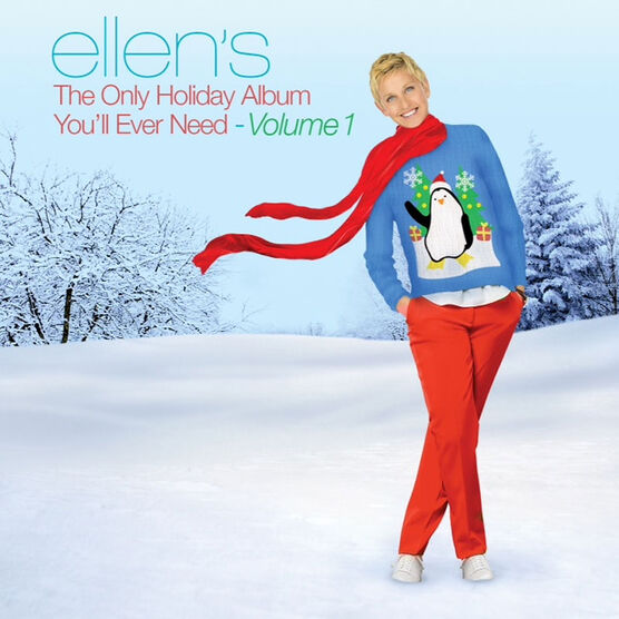 Various Artists - Ellen's The Only Holiday Album You'll Ever Need Volume 1 - CD