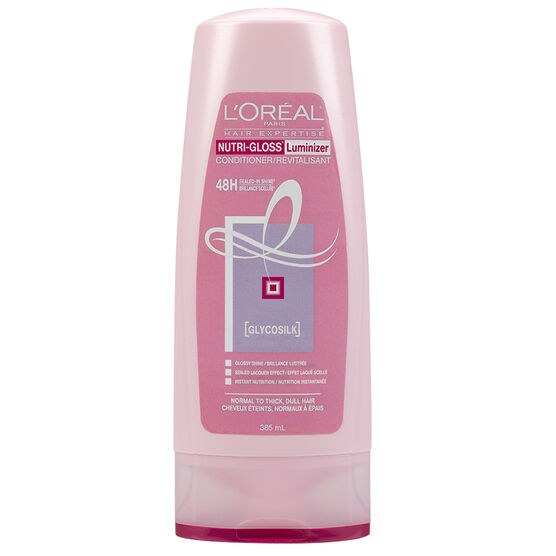 L'Oreal Nutri-Gloss Luminizer Conditioner - 385ml