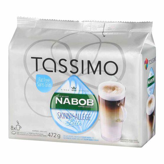 Tassimo Nabob Skinny Latte - 8 servings