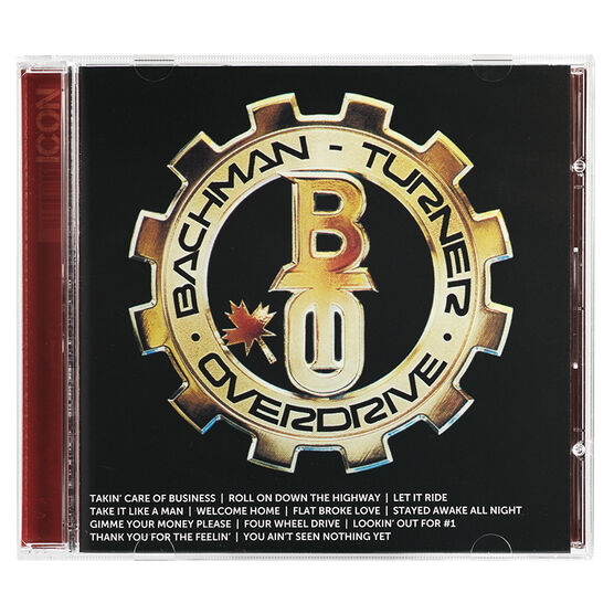 Bachman Turner Overdrive - Icon - CD