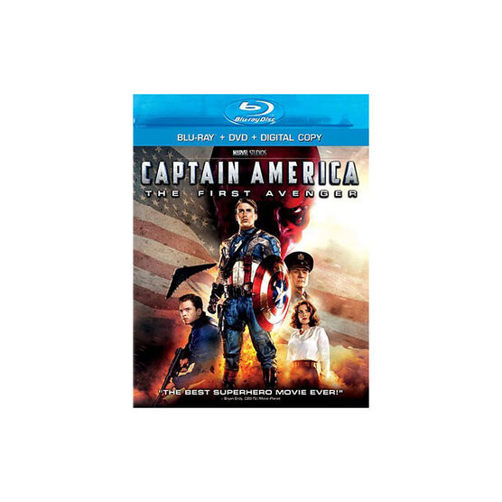 Captain America: The First Avenger - Blu-Ray + DVD + Digital