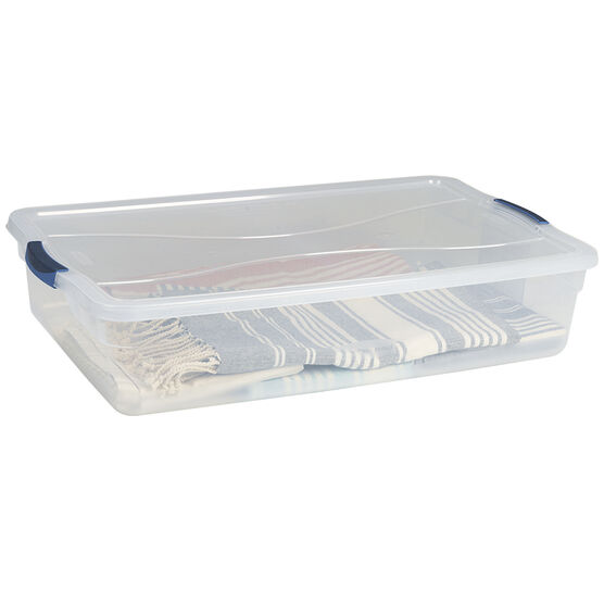 Rubbermaid Clever Store Latch Box - 38.8L