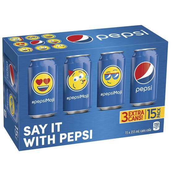 Pepsi - 15 pack