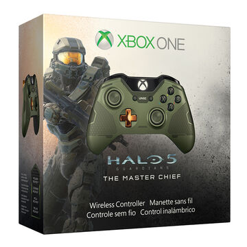 Xbox One Halo 5 Master Chief Limited Edtion Wireless Controller - GK4-00011