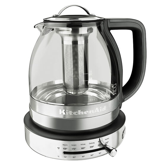 KitchenAid Glass Tea Kettle - 1.5L - KEK1322SS