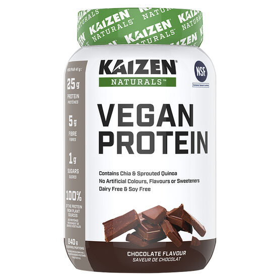 Kaizen Vegan Protein - Natural Decadent Chocolate - 840g