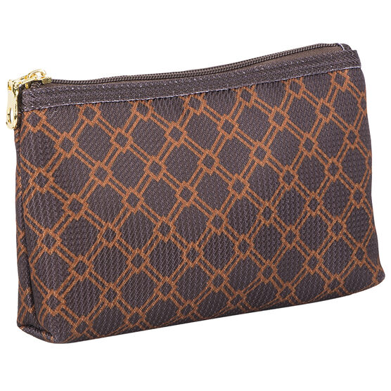 Modella Brown Faux Jacquard Purse Kit - A002014LDC