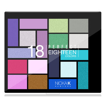 Nicka K Perfect Eighteen Eyeshadow Palette - AP025