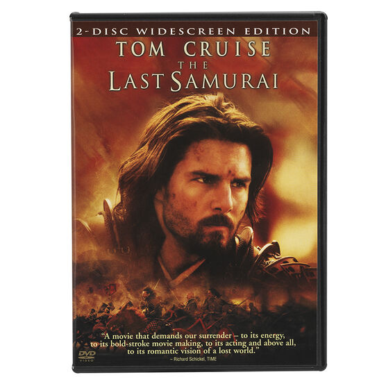 The Last Samurai (Widescreen) - DVD