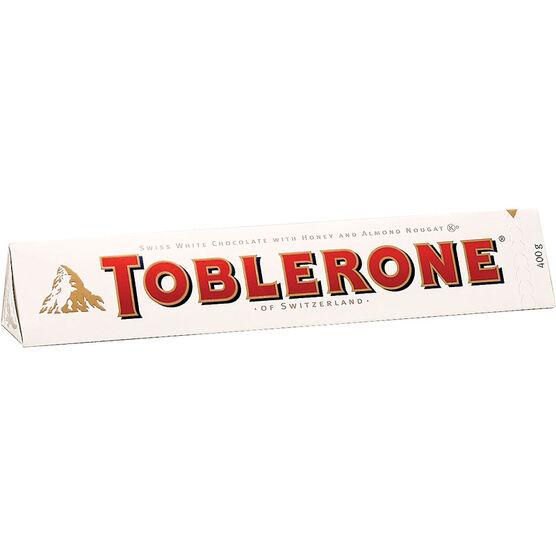 Toblerone White Chocolate - 400g