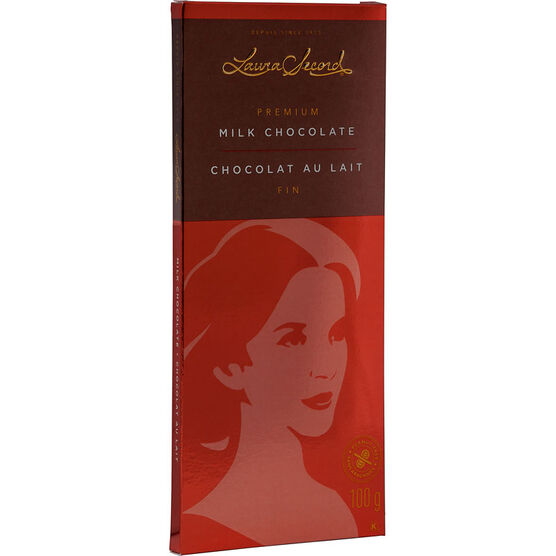 Laura Secord Milk Chocolate Bar - 100g