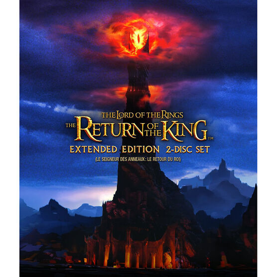 The Lord of the Rings: The Return of the King - Extended Edition - Blu-ray