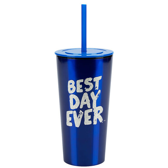 London Drugs Double Wall Tumbler - Best Day Ever - 16oz