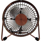 Logiix Retro Air USB Fan - Small - Bronze - LGX-10549