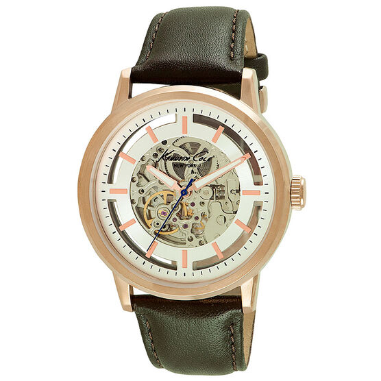 Kenneth Cole Automatic Watch - Green/Gold - 10026783