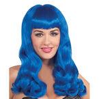Halloween Sherri Berry Wig - Blue