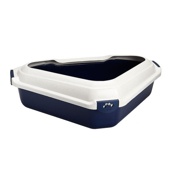 London Drugs Cat Litter Tray - Triangle - Assorted - 56 x 43 x 14cm