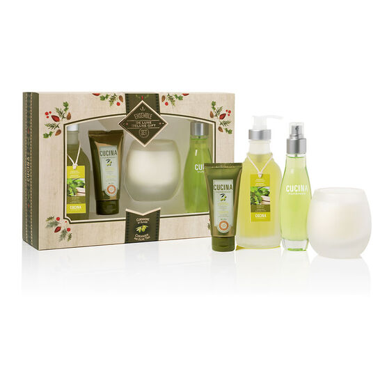 Fruit & Passion Cucina Deluxe Set - Coriander and Olive Tree