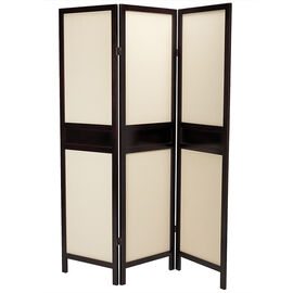 London Drugs Wood & Fabric Divider Screen - 15109