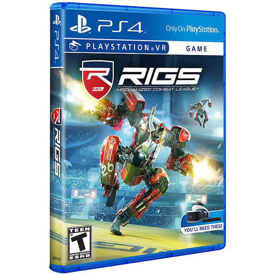PS VR RIGS Mechanized Combat League