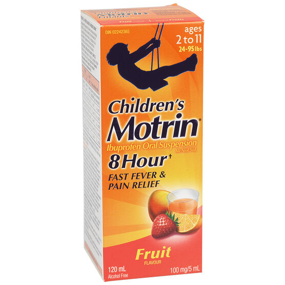 Motrin Children's Liquid Suspension - Fruit - 120ml