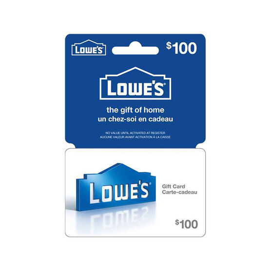 Lowes Gift Card - $100