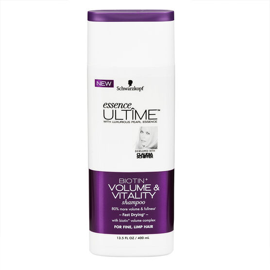 Schwarzkopf Essence Ultime Shampoo - Biotin+ Volume - 400ml