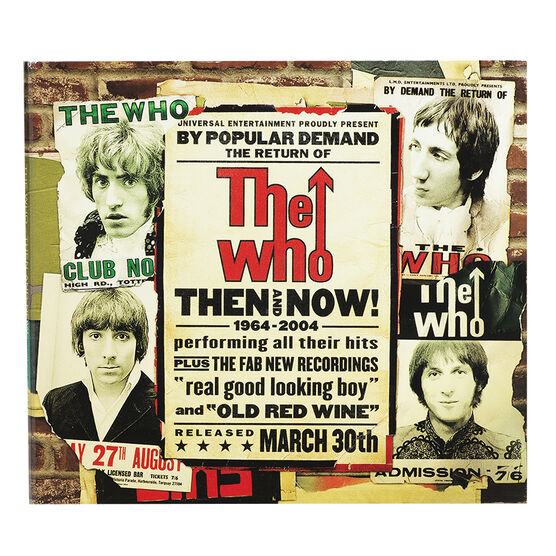 The Who - Then and Now: 1964-2004 - CD