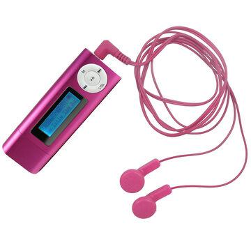 Curtis Digital MP3 Player - 4GB - Pink - MPK4312BUSA