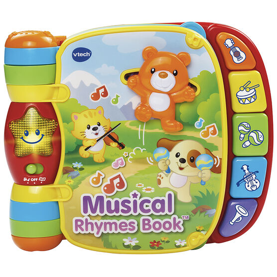 VTech Musical Rhymes Book - 80166700