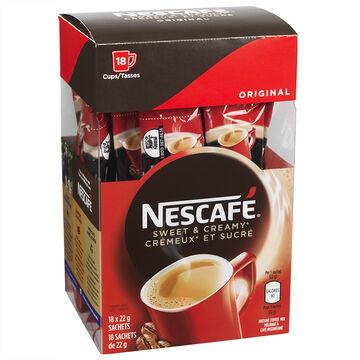 Nescafe Sweet & Creamy Original - 18x22g
