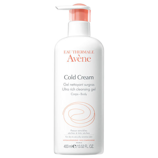 Avene Ultra-Rich Soap Free Cleansing Gel with Cold Cream - 400ml