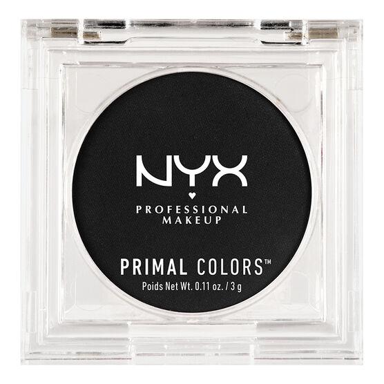 NYX Primal Colors - Hot Black