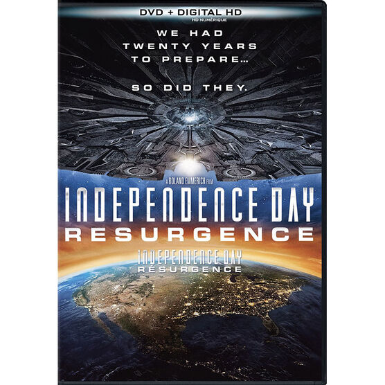 Independence Day 2: Resurgence - DVD