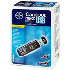 Bayer's CONTOUR® NEXT USB Blood Glucose Meter