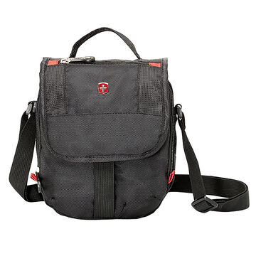 Swiss Gear Mini Boarding Bag - Black/Red