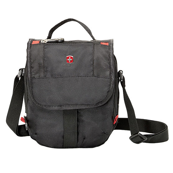 Swiss Gear Mini Boarding Bag - Black/Red