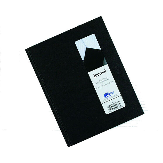 Hilroy Wireless Journal - Black - 192 Page