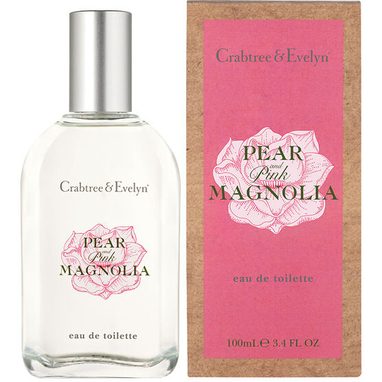 Crabtree & Evelyn Pear & Pink Magnolia Eau de Toilette - 100ml