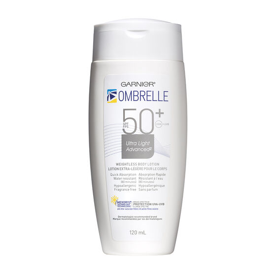 Ombrelle Ultra Light Weightless Body Lotion Sunscreen - SPF50+ - 120ml