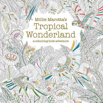 A Coloring Book Adventure - Tropical