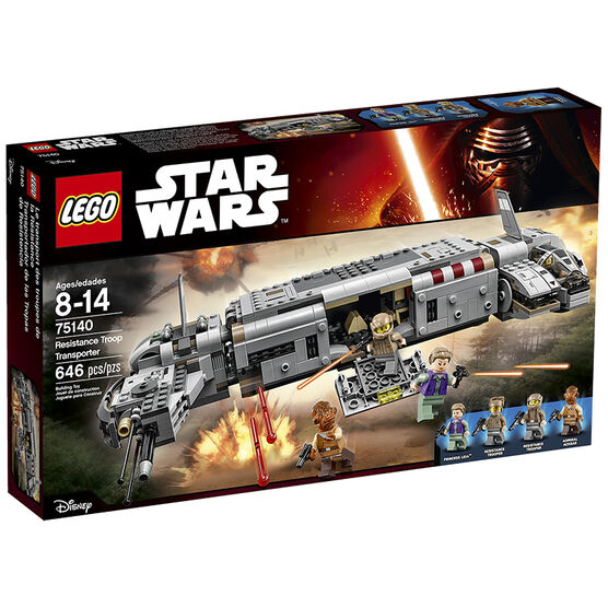 Lego Star Wars - Resistance Troop Transporter