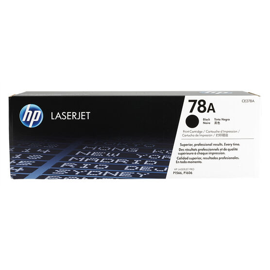 HP LaserJet Print Cartridge - Black - CE278A