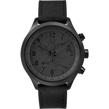 Timex IQ Fly-Back Chronograph - Black - TW2P79000ZA