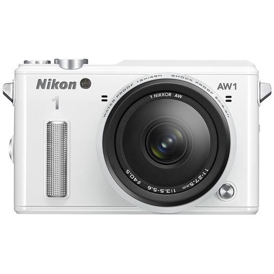Nikon 1 AW1 with 11-27.5mm Lens - White