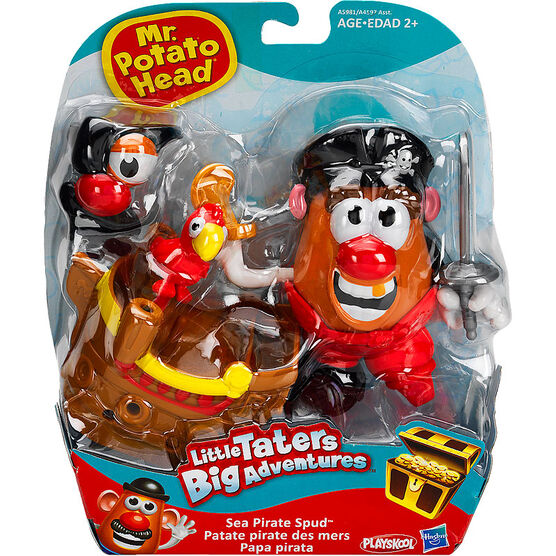 Playskool Mr. Potato Head Little Taters Big Adventures Deluxe Themed Potato - Assorted